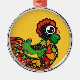 Portuguese Barcelos Rooster ornament