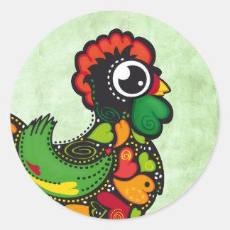 Portuguese Barcelos Rooster sticker
