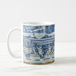 Portuguese blue and white tiles from Porto Coffee Mug