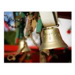 Portuguese bull bells postcard