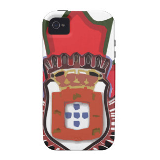 Portuguese canadian color vibe iPhone 4 case