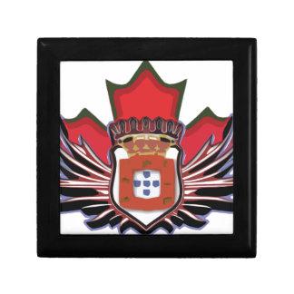 Portuguese canadian color jewelry box