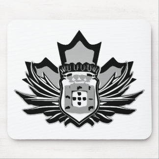 Portuguese canadian mouse pad