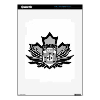 Portuguese canadian iPad 2 decal