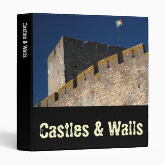 Portuguese castle 3 ring binder