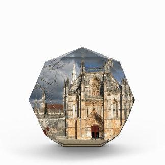 Portuguese castle acrylic award