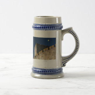 Portuguese castle beer stein