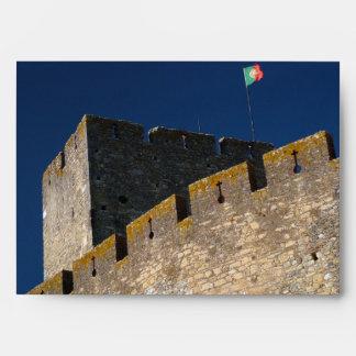 Portuguese castle envelope