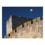 Portuguese castle flyer design