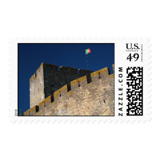 Portuguese castle postage