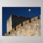 Portuguese castle print