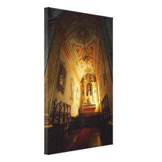 Portuguese catholic church canvas print