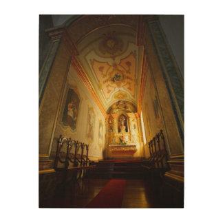 Portuguese catholic church wood wall art