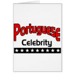 Portuguese Celebrity Greeting Card