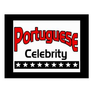 Portuguese Celebrity Postcard