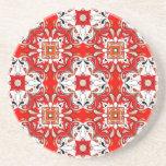 Portuguese Ceramic Tile Pattern Coasters