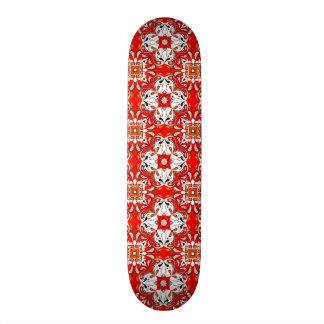 Portuguese Ceramic Tile Pattern Skateboard