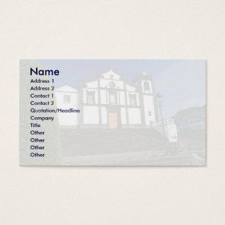 Portuguese church business card