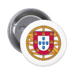 Portuguese Coat of Arms 2 Inch Round Button