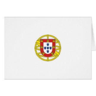 Portuguese* Crest Note Card