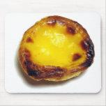 Portuguese custard tart mousepad