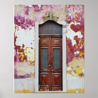Portuguese doors poster