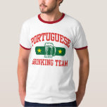 Portuguese Drinking Team T Shirt