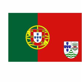 Portuguese East Africa (Proposal), Portugal flag Photo Sculptures