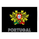 Portuguese Emblem Card