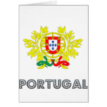 Portuguese Emblem Greeting Card