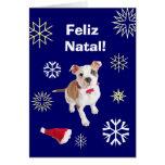 Portuguese: Feliz Natal! Merry Christmas! Cards