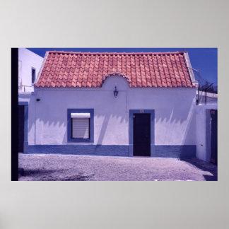 Portuguese Fisherman's House Print