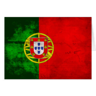 Portuguese Flag Card