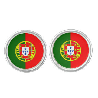 Portuguese flag cufflinks   Portugal pride