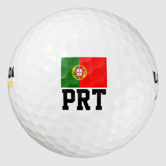Portuguese flag golf ball set | Portugal pride