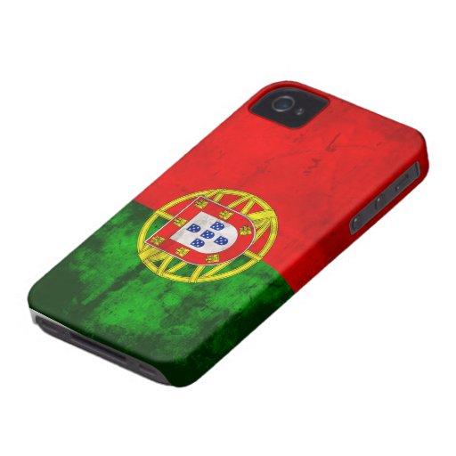Portuguese Flag iPhone 4 Case-Mate Case