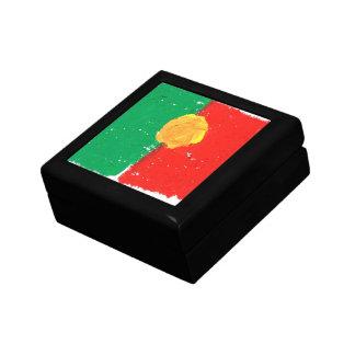 Portuguese flag keepsake box