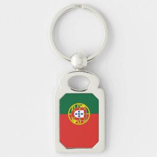 Portuguese Flag Keychain