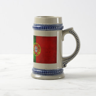Portuguese Flag 18 Oz Beer Stein