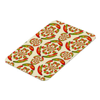 Portuguese flag pattern magnet
