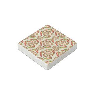 Portuguese flag pattern stone magnet