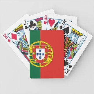 Portuguese Flag Poker Cards