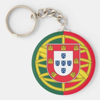 Portuguese flag quality keychain