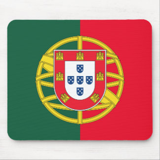 Portuguese flag quality mouse pad