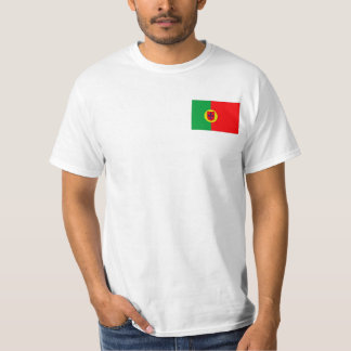 Portuguese Flag T-shirts and Gifts