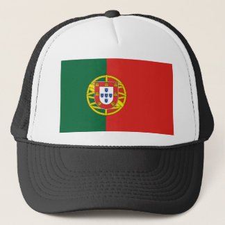 Portuguese Flag Trucker Hat