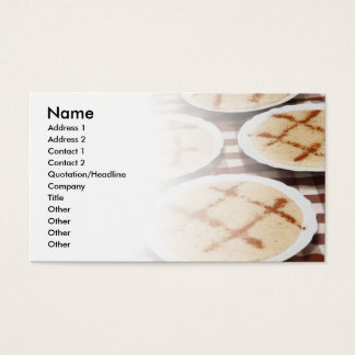 Portuguese food business card