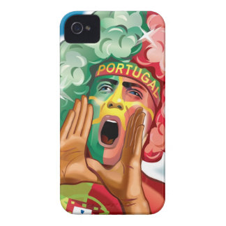 Portuguese Football Fan Reaction iPhone 4 Case