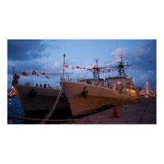 Portuguese frigates business card