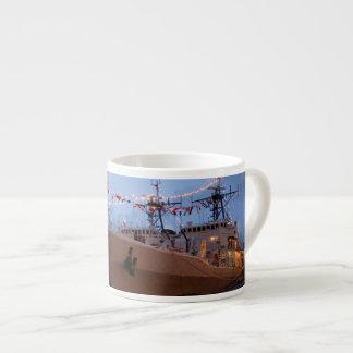 Portuguese frigates espresso cup